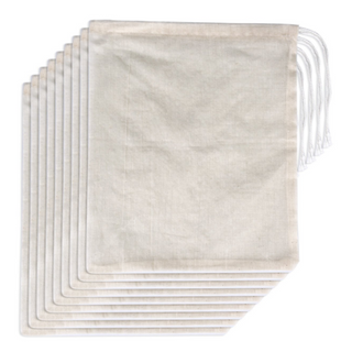 Eco Cotton Muslin Bags With Drawstring For Storage Organisation - Custom Service And Factory Price