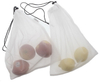 Eco Friendly RPET Mesh Grocery Bags For Fruits And Vegetables Made In China