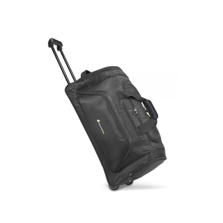 Portable Trolley Travel Luggage Bags With Top Polyester And Custom Logo