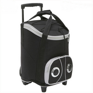 Large Capacity Wheeled Waterproof Lunch Cooler Bags With Speaker