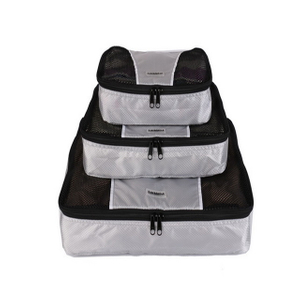 Custom Wholesale Travel Packing Cubes 3pcs Set Lightweight Luggage Organizers Bag