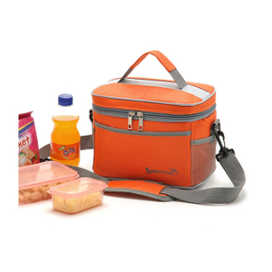 Insulated Lunch Cooler Bags With Waterproof Polyester Material Custom Available