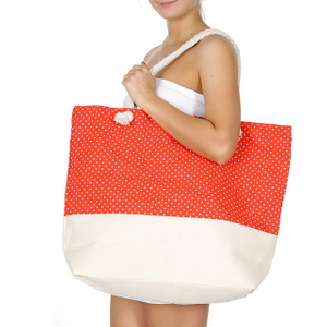 Extra Large Canvas Tote Bags With Zipper Eco-Friendly