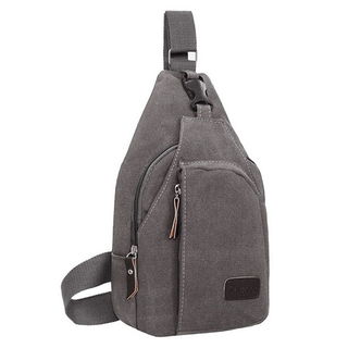2018 Sport Canvas Sling Shoulder Chest Bag Light Weight Crossbody Men Sling Backpack
