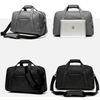 Fashion Custom Men Sport Weekend Travel Duffel Bag With Shoes Compartment