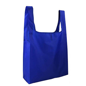 210D Foldable Shopping Bag Durable In Pouch With Zipper