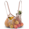 Reusable String Tote Net Bags With Long Handle For Grocery Shopping,Beach & Market