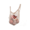 Recycled Cotton Shopping Bags With 100% Cotton Material For Vegetable And Fruit