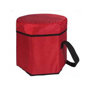 Large Insulated Round Freezer Bags With Insulated Material And Custom Logo